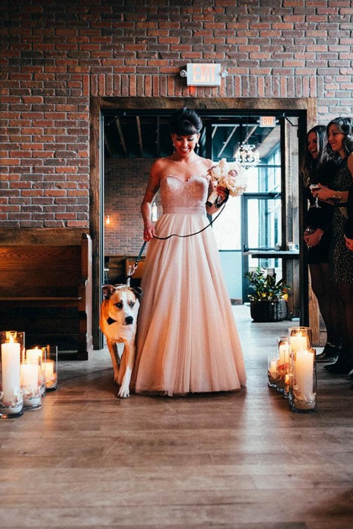Robe de mariée dentelle boheme robe de mariée dos nu dentelle robe rose pale