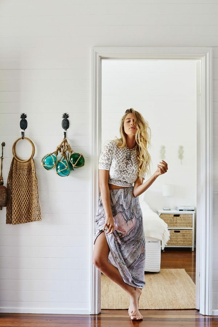 1950 hippies look hipie vetement hippie femme maison tenue hippie longue jupe