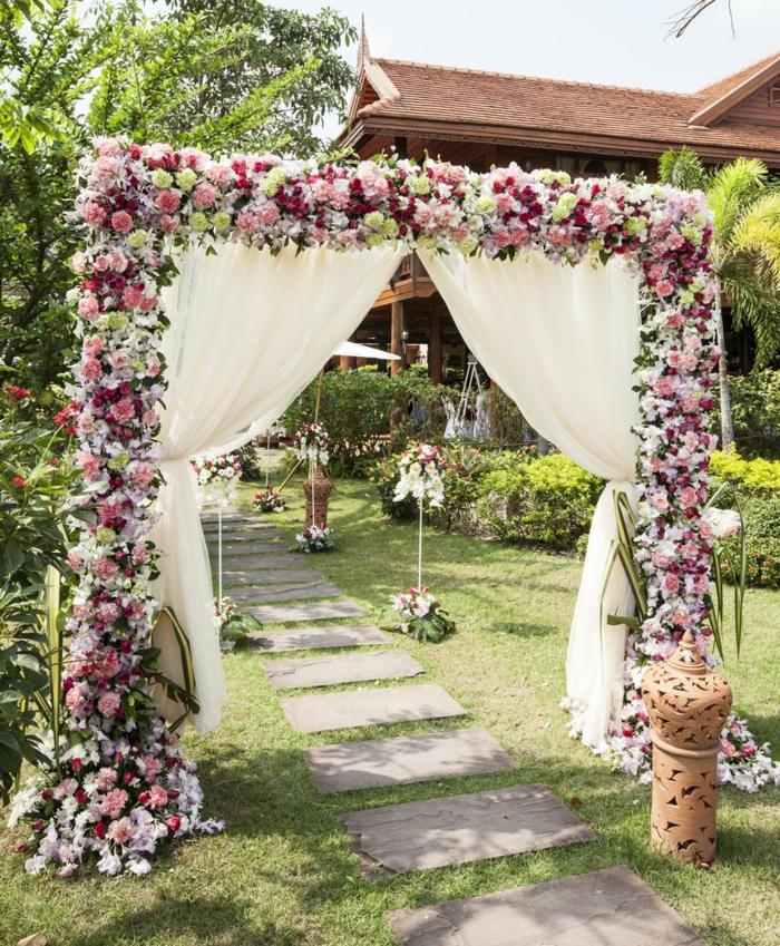 Quelle décoration fleurs mariage composition de fleurs pour mariage