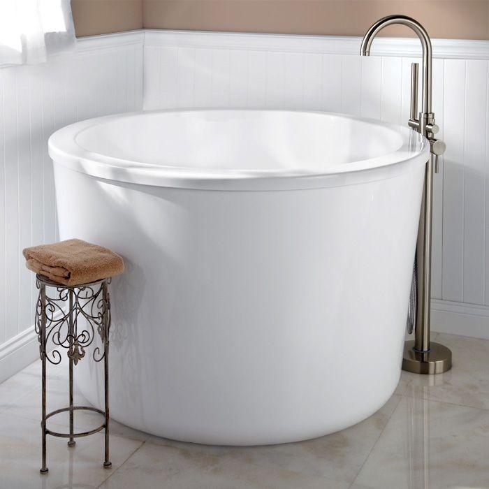 baignoire castorama ronde acrylique petit bac bain