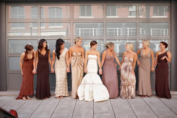 Robe de soirée pour mariage idée quelle tenue de mariage choisir les amies et la mariee