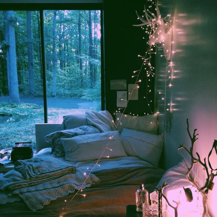 1001 id es pour la d coration d 39 une chambre gris et violet for Decoration d une chambre adulte