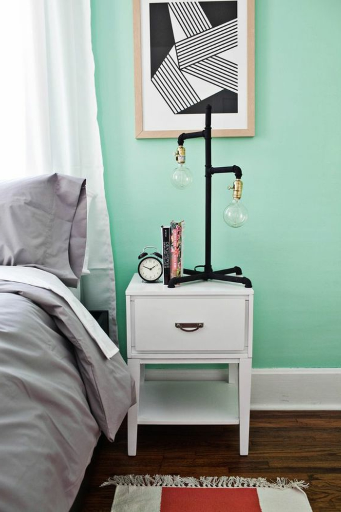 deco chambre vert chambre with deco chambre vert cheap beautiful deco chambre bebe bleu et. Black Bedroom Furniture Sets. Home Design Ideas