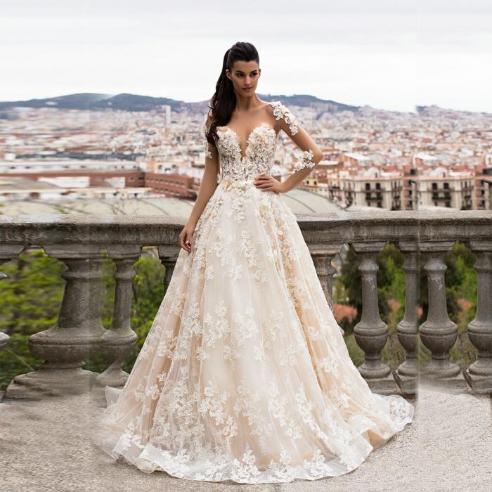 Robe de mariée sirene dentelle quelle robe de mariée fluide dentelle belle vie