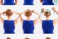 Un chignon facile pour paraître jolie sans efforts – plus de 70 idées et tutos ultra simples