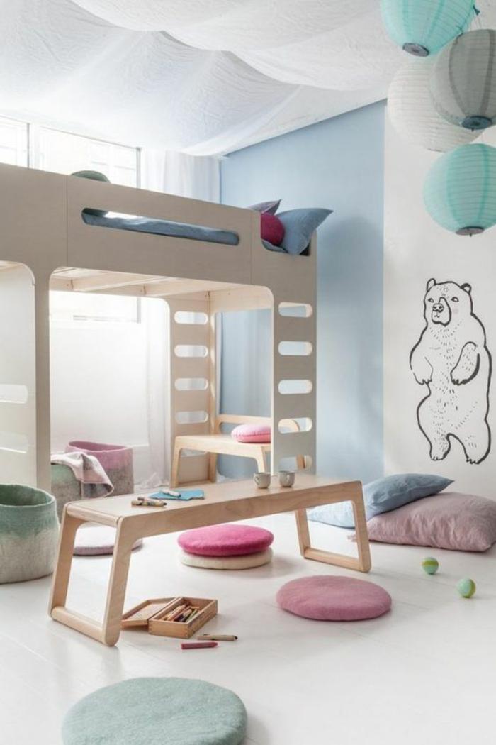 Beautiful ambiance chambre enfant ideas for Deco chambre deux enfants