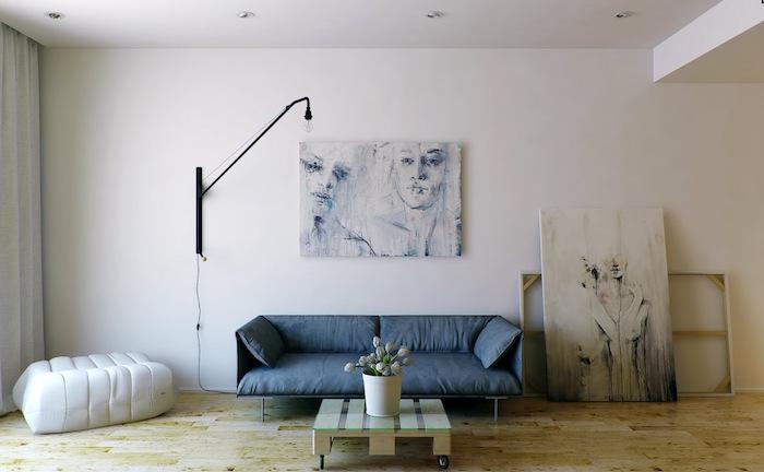 idée de deco minimaliste moderne style bohème minimal