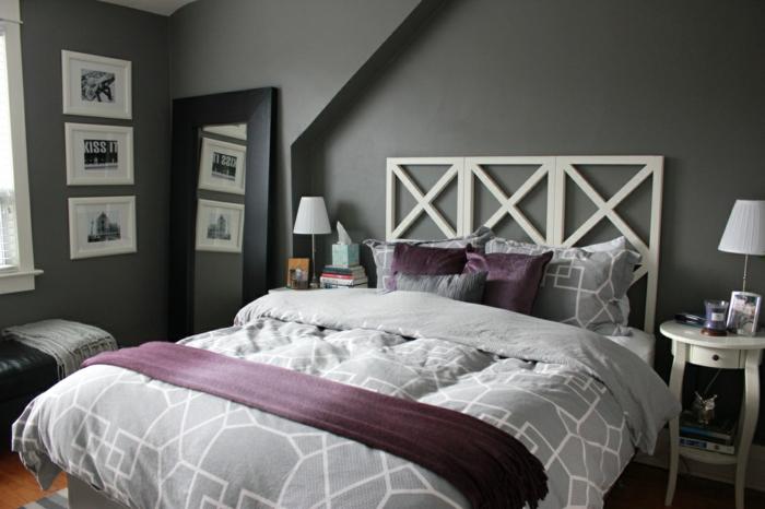 Deco chambre homme signification du violet chambre blanche et taupe
