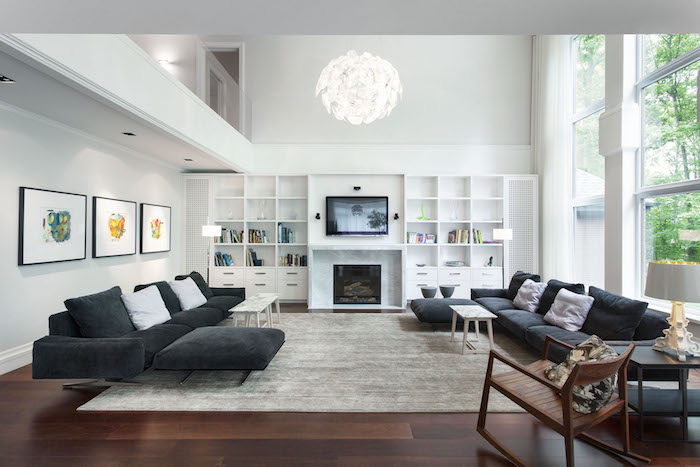 aménagement deco loft moderne et salon style design