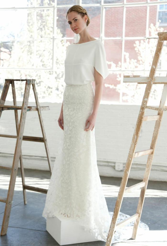 La robe de mariee dentelle robe de mariée pronuptia tendances cool idée moderne