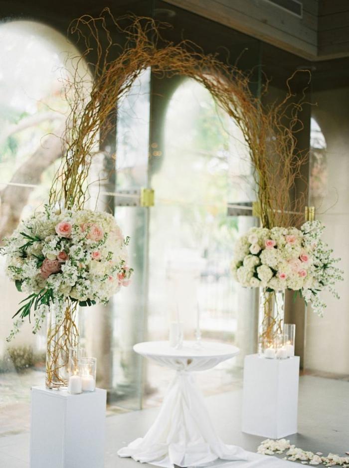 Devis décoration mariage composition de mariage création florale