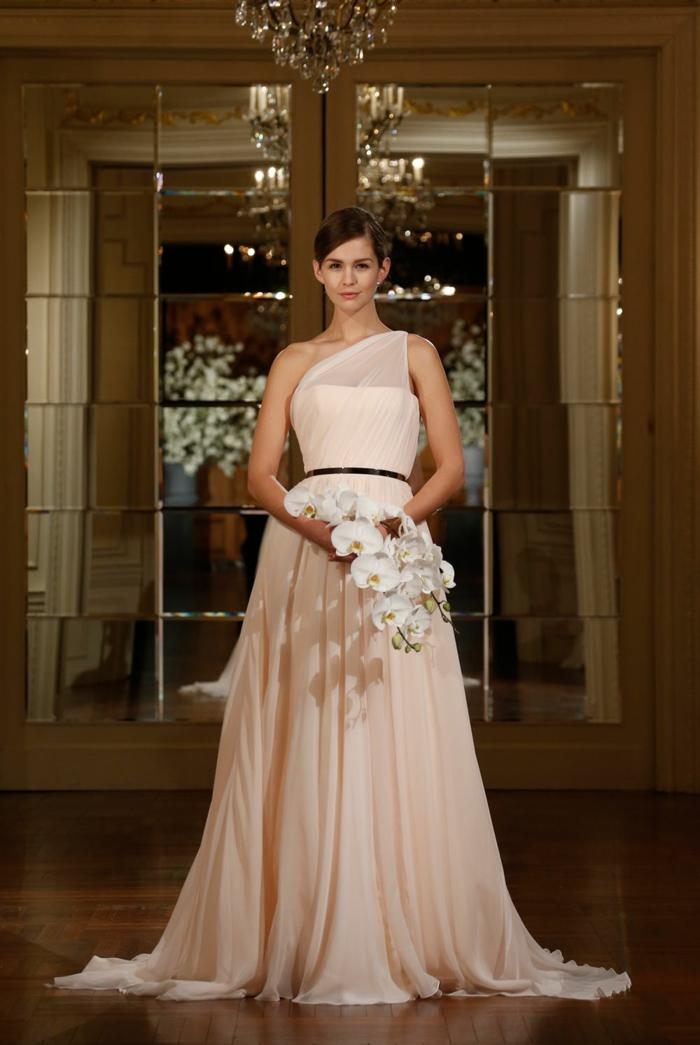 Chouette robe mariée moderne robe de mariée pas cher beauté grecque robe