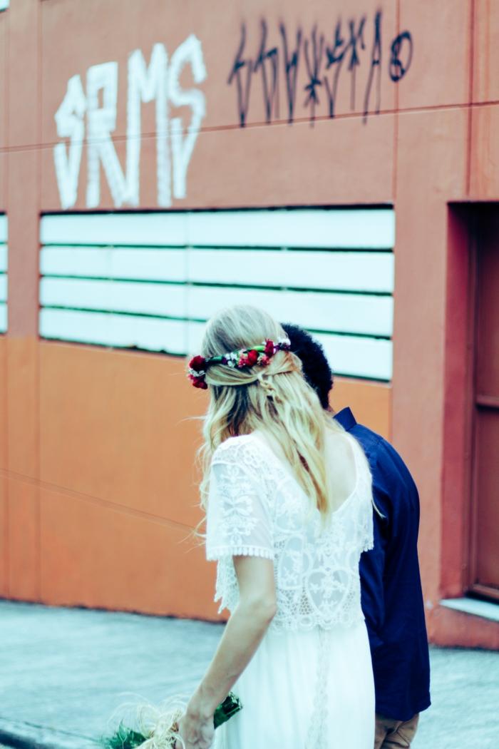 Adorable robe de mariée moderne robe de mariée simple mode