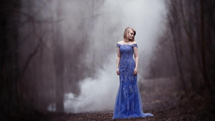 Les plus belles robes robe pour mariage invité robe mariage invité robe longue bleue épaules dénudées