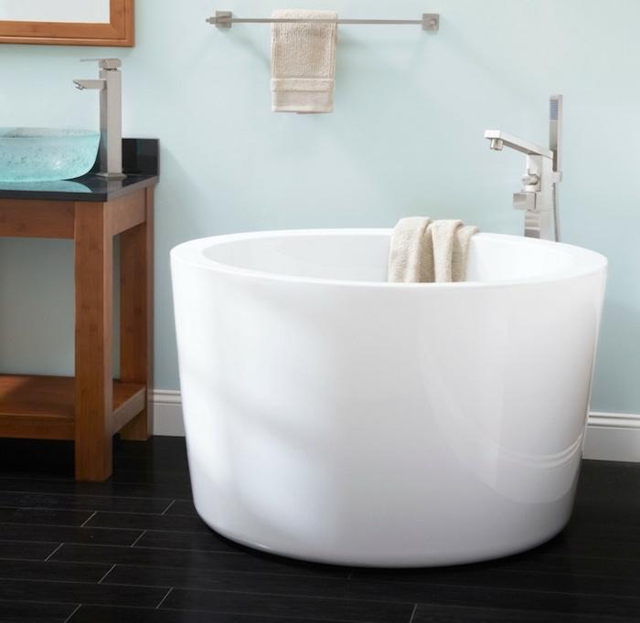 petite vasque baignoire ronde circulaire bac bain petit