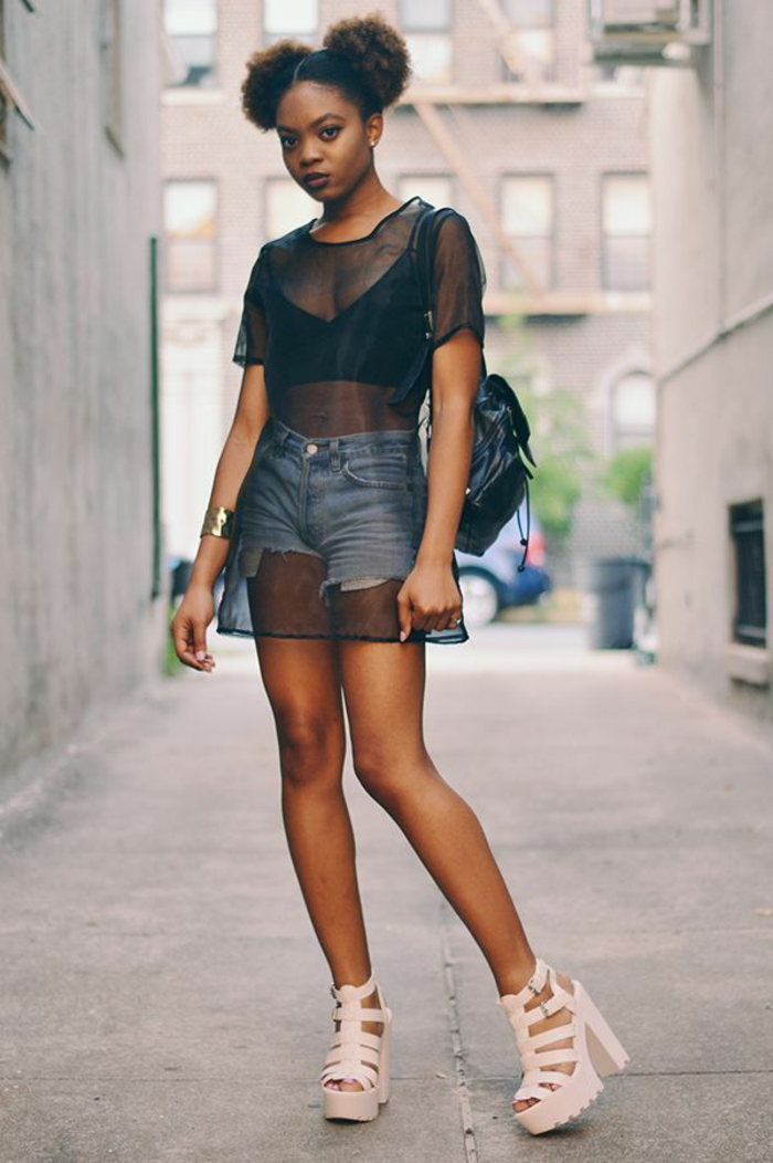 Magnifique robe mode swag tenue complete femme swag vetement