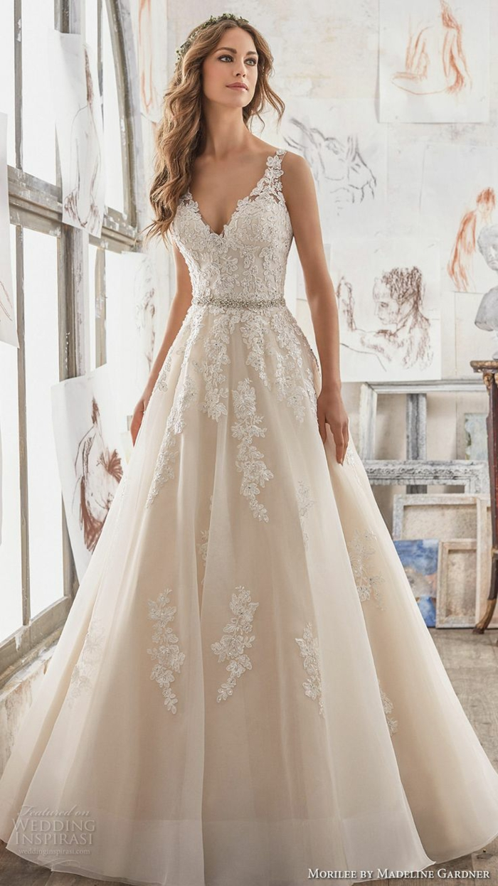 Quelle robe de mariée boheme robe de mariée dentelle sirene