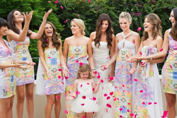 Comment s habiller chic robe élégante mariage amie robe invitée mariage coloré