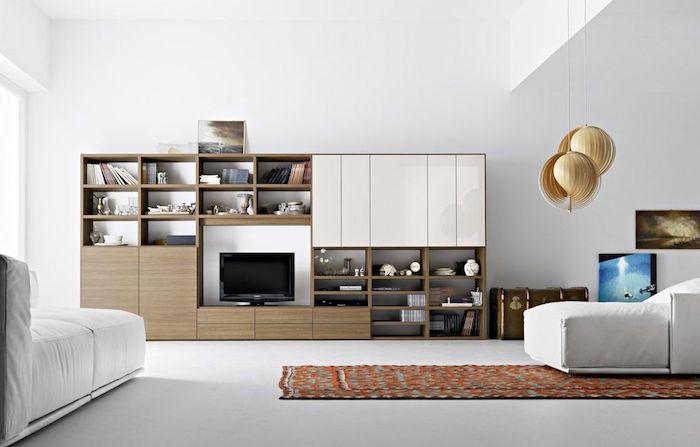 séjour moderne et contemporain au design minimaliste