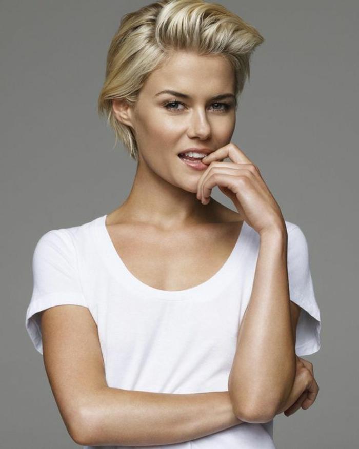 ▷ 1001 + variantes de coupe courte blonde pour rafraîchir