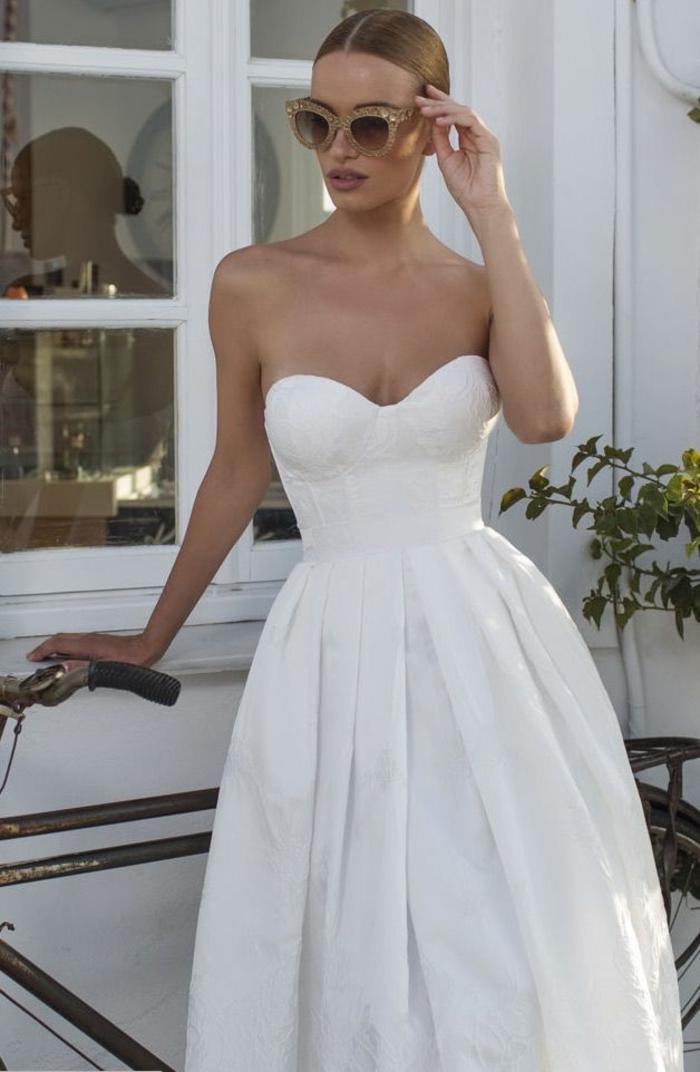 Marque robe de mariée robe de mariée champetre chic mariage belle robe de mariée longue simple