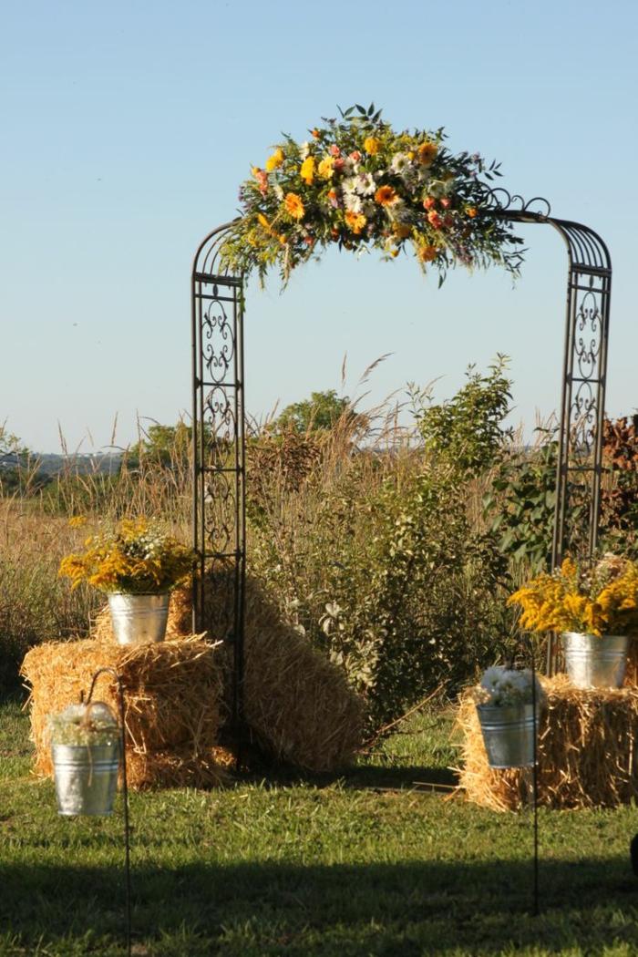Poétique décoration florale mariage centre de table deco mariage fleur