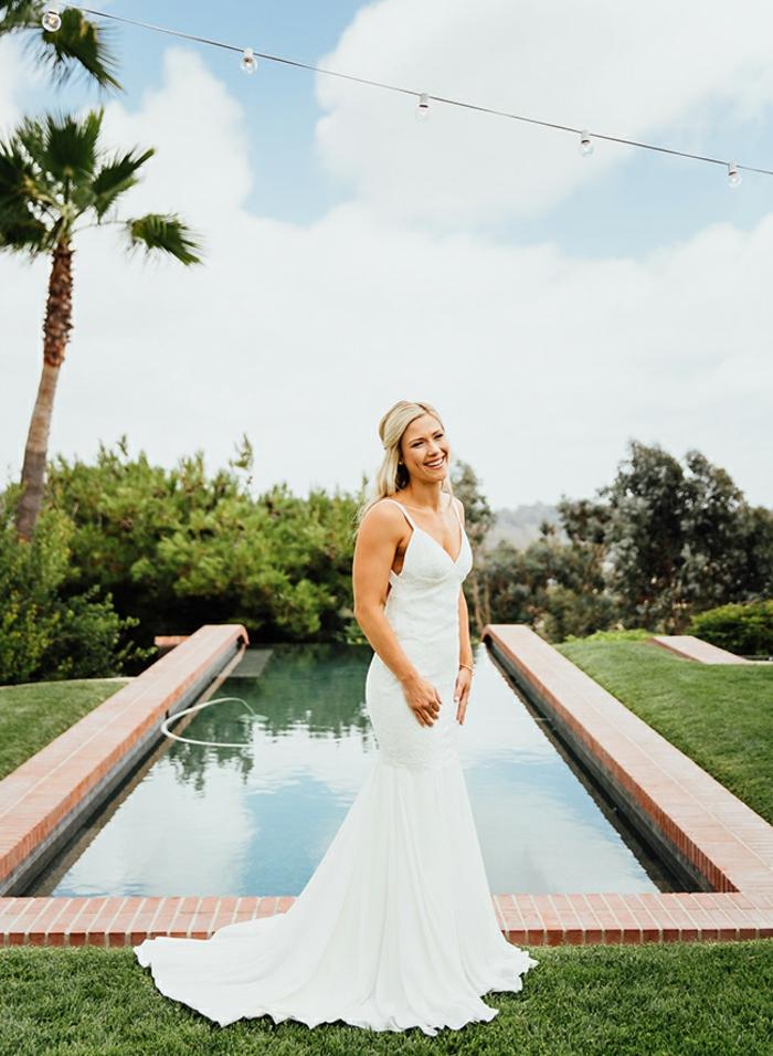 Robe de mariée dentelle boheme robe de mariée dos nu dentelle