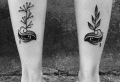 Tatouage mollet – 50 modèles qui ne courent pas les rues