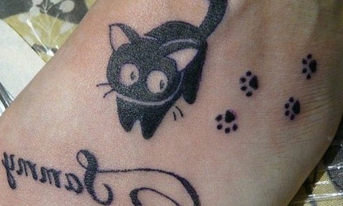 ▷ 1001 + variantes originales du tatouage patte de chat