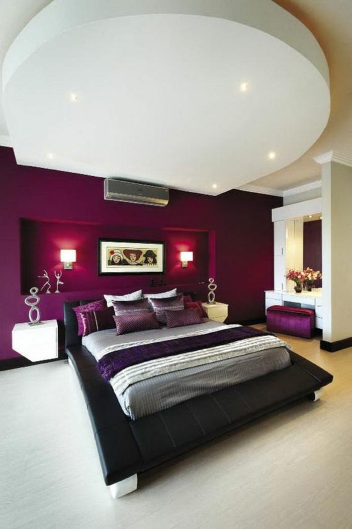 Peinture chambre aubergine 052639 la meilleure conception d 39 inspiration pour for Peinture aubergine