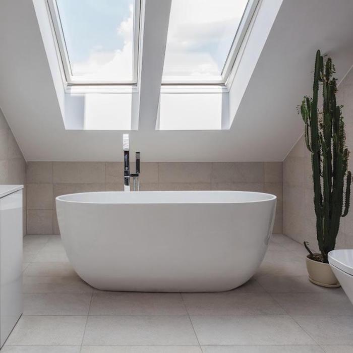 salle de bain 6m2 baignoire d angle 120x120 bain moderne