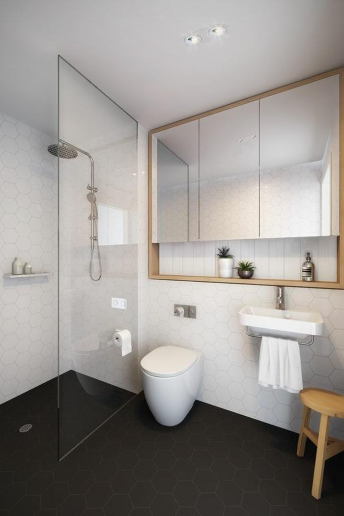 1001 id es pour am nager une petite salle de bain des strat gies pour pargner de l 39 espace for Belle salle de bain douche