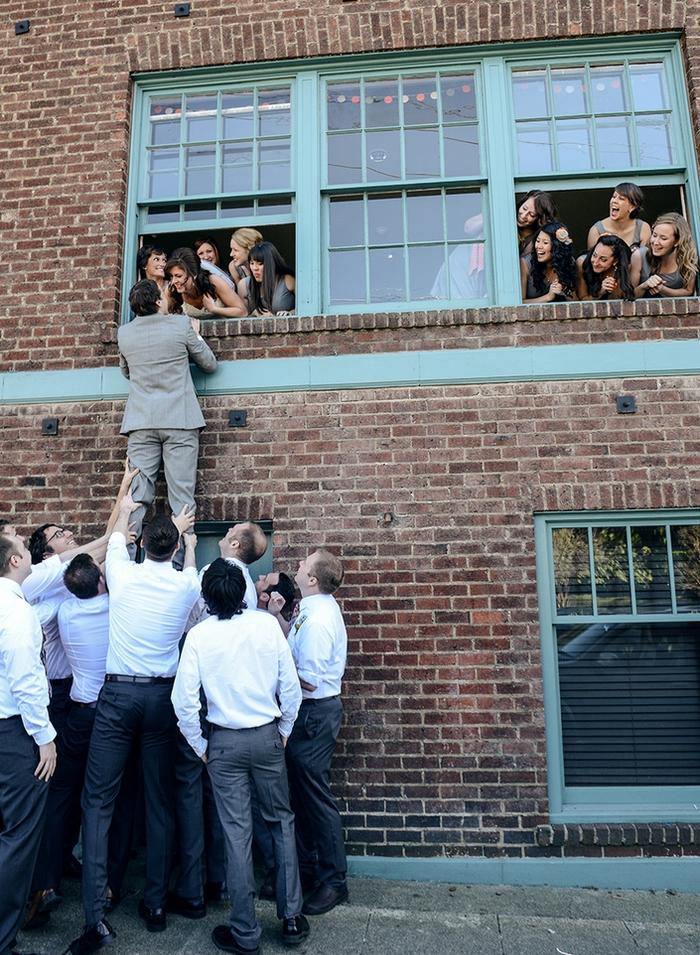 comment réaliser des photos de mariage originales avec ses témoins d'honneur