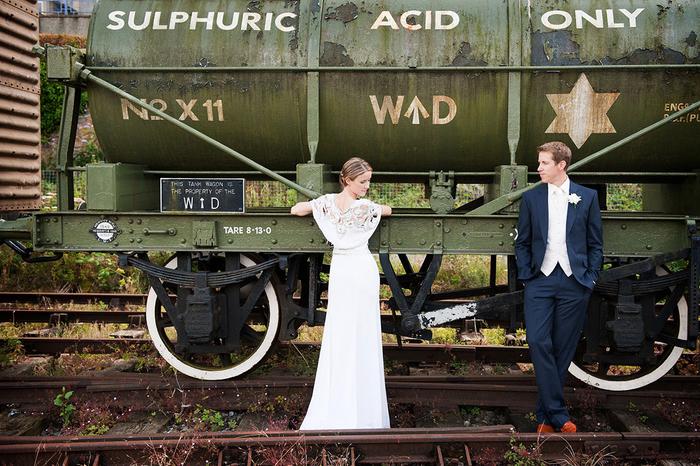 comment réaliser des photos de mariage originales dans un cadre urbain