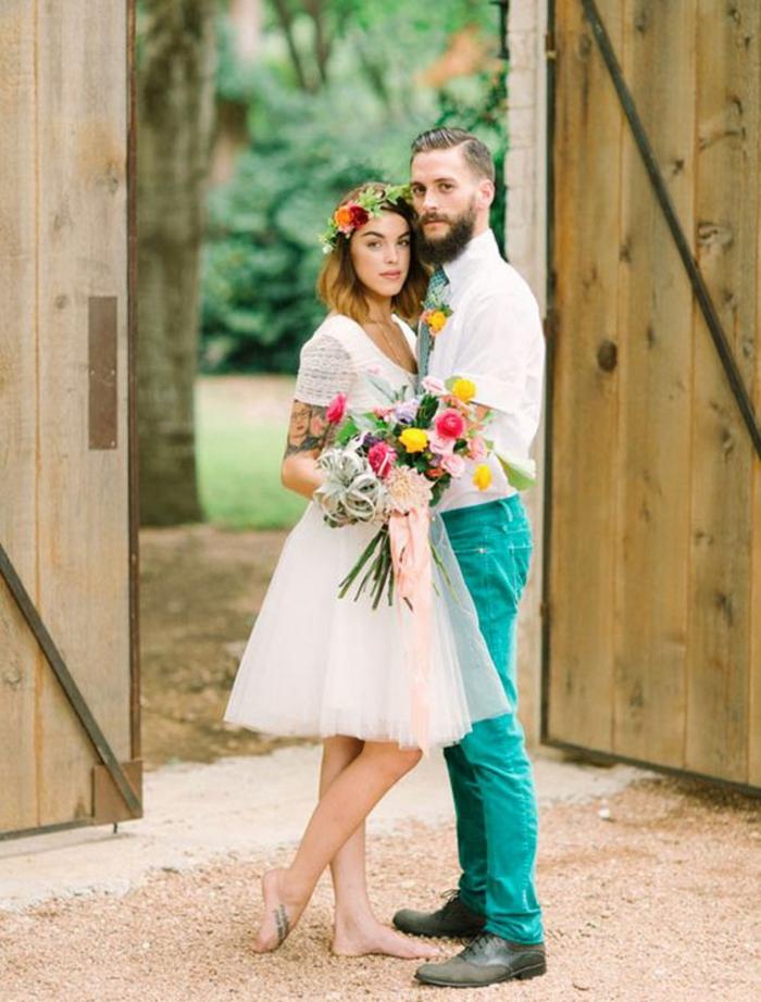 Robe de mariée sirene dentelle quelle robe de mariée moulant rétro mariage robe courte