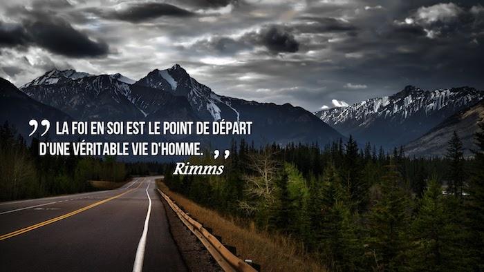 les plus belles citations, photo avec paysage naturel, fond d'écran avec montagnes et route