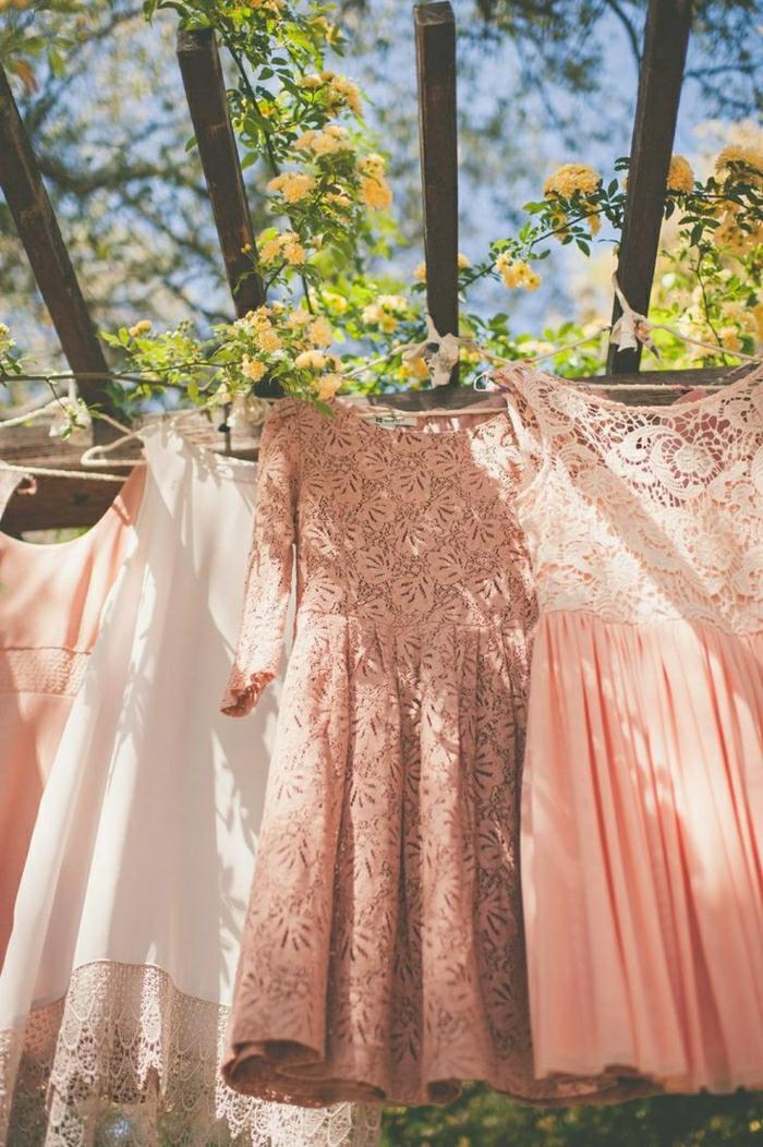 La robe soirée mariagerobe pour aller à un mariage belle robe pêche couleur