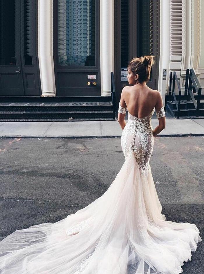Les robes de mariée robe de mariée sirène les mariées de provence
