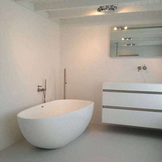 bac a bain design baignoire ovale petit format