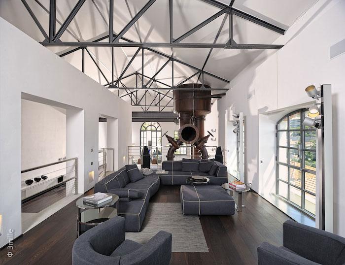 idée décoration loft design décoration industrielle
