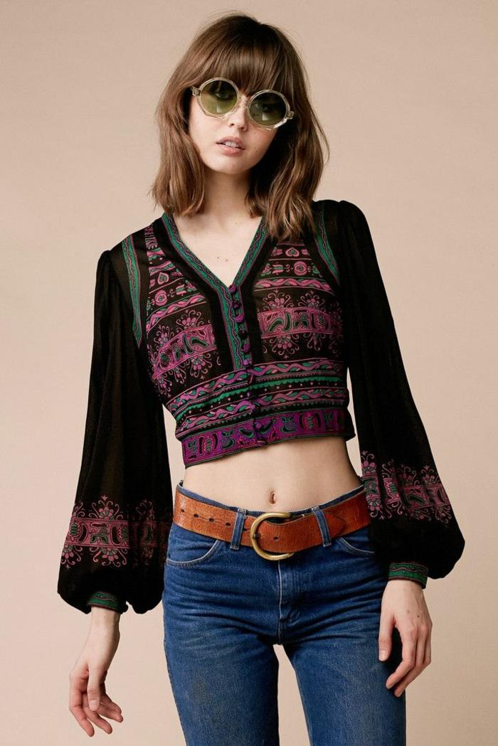 1970 hippie fashion inspiration comment s habiller hippie chic