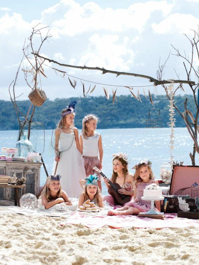 Formidable tenue hippies style and fashion hippie life style anniversaire enfant au bord d un lac pique nique