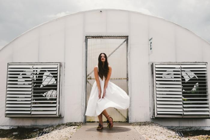 Idee tenue classe femme s habiller classe style femme classe daman robe blanche