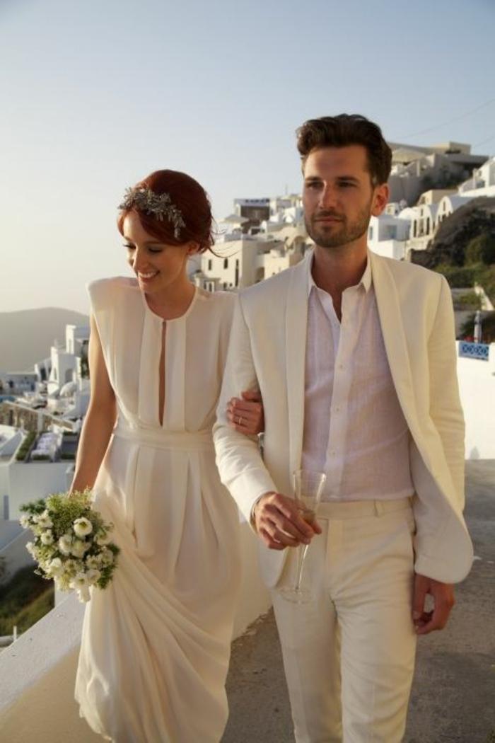 Robe de mariée bohème dentelle robe de mariée en dentelle