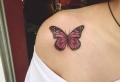 En dessous de la réalité avec un tatouage papillon. 80 idées pour un design fantastique