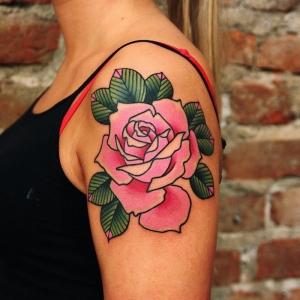 Tatouage rose – Un bouquet d'idées en 50 modèles