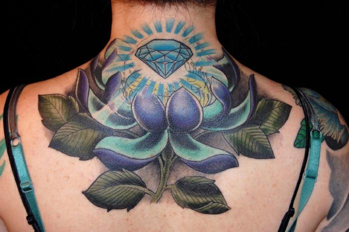 1001 Dessins De Tatouage Fleur Et Leurs Significations