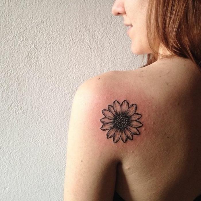 ▷ 1001 + dessins de tatouage fleur et leurs significations