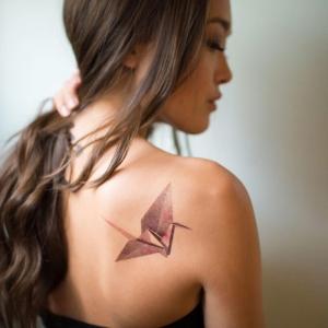 L'esthétique géométrique du tatouage origami en 70 photos