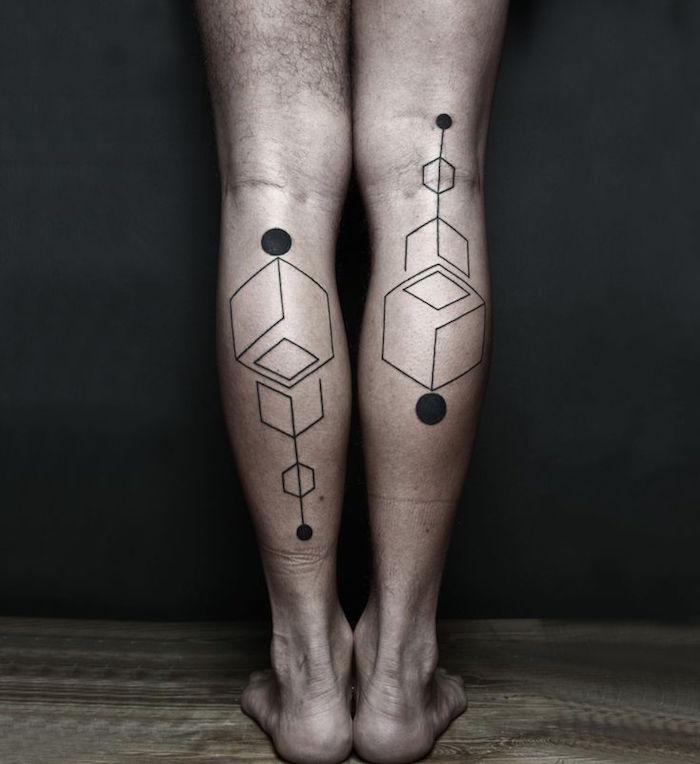 ▷ 1001+ idées | tatouage mollet - 50 modèles qui ne courent pas les